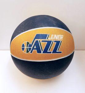 Junior Jazz autographed basketball